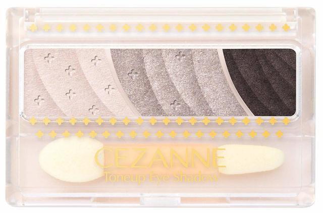 CEZANNE(セザンヌ) トーンアップアイシャドウ 03:チャコールブラウンの写真