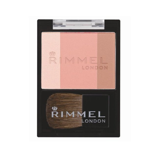 RIMMEL(リンメル) スリーインワン モデリングフェイスブラッシュ 008ふんわり明るいヌードベージュの写真