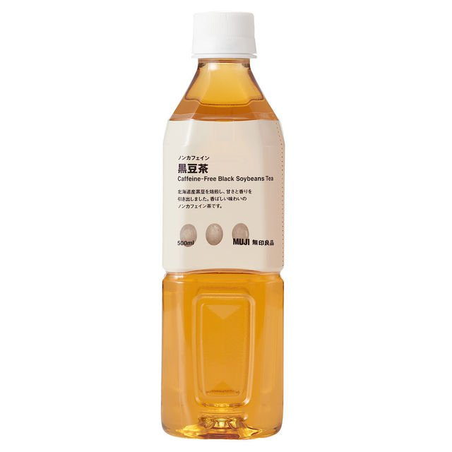 MUJI(無印良品) ノンカフェイン 黒豆茶 500ml