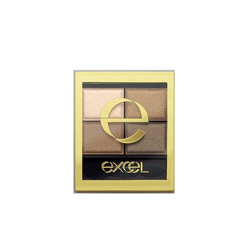 excel(エクセル) スキニーリッチシャドウ SR04 スモーキーブラウン