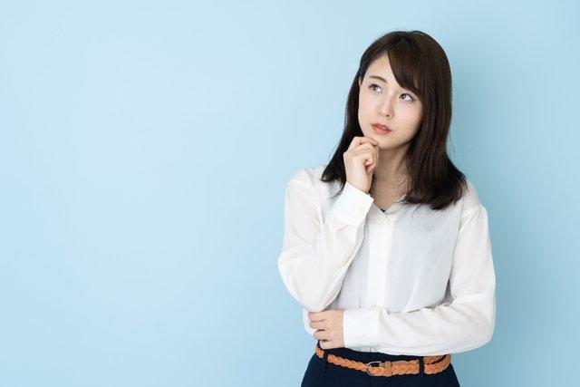 考えている日本人女性