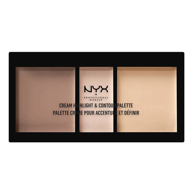 NYX Professional Makeup(ニックス プロフェッショナル メイクアップ) クリーム ハイライト&コントゥアーパレット
