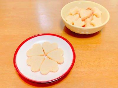 チーズ入り米粉のクッキーのレシピ