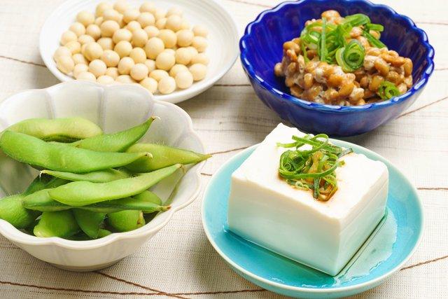 汗を抑制する大豆イソフラボン